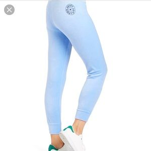 JUICY COUTURE VELOUR PANT WITH CIRCLE STAR LOGO
